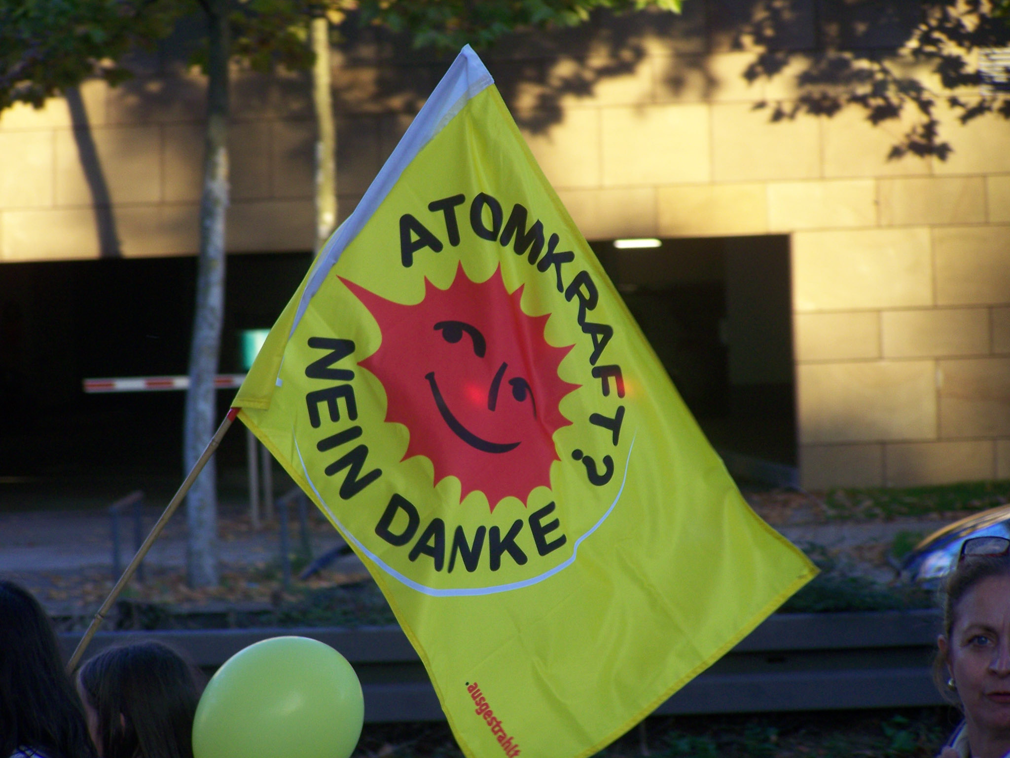 Anti Atomkraft Demo Stuttgart
