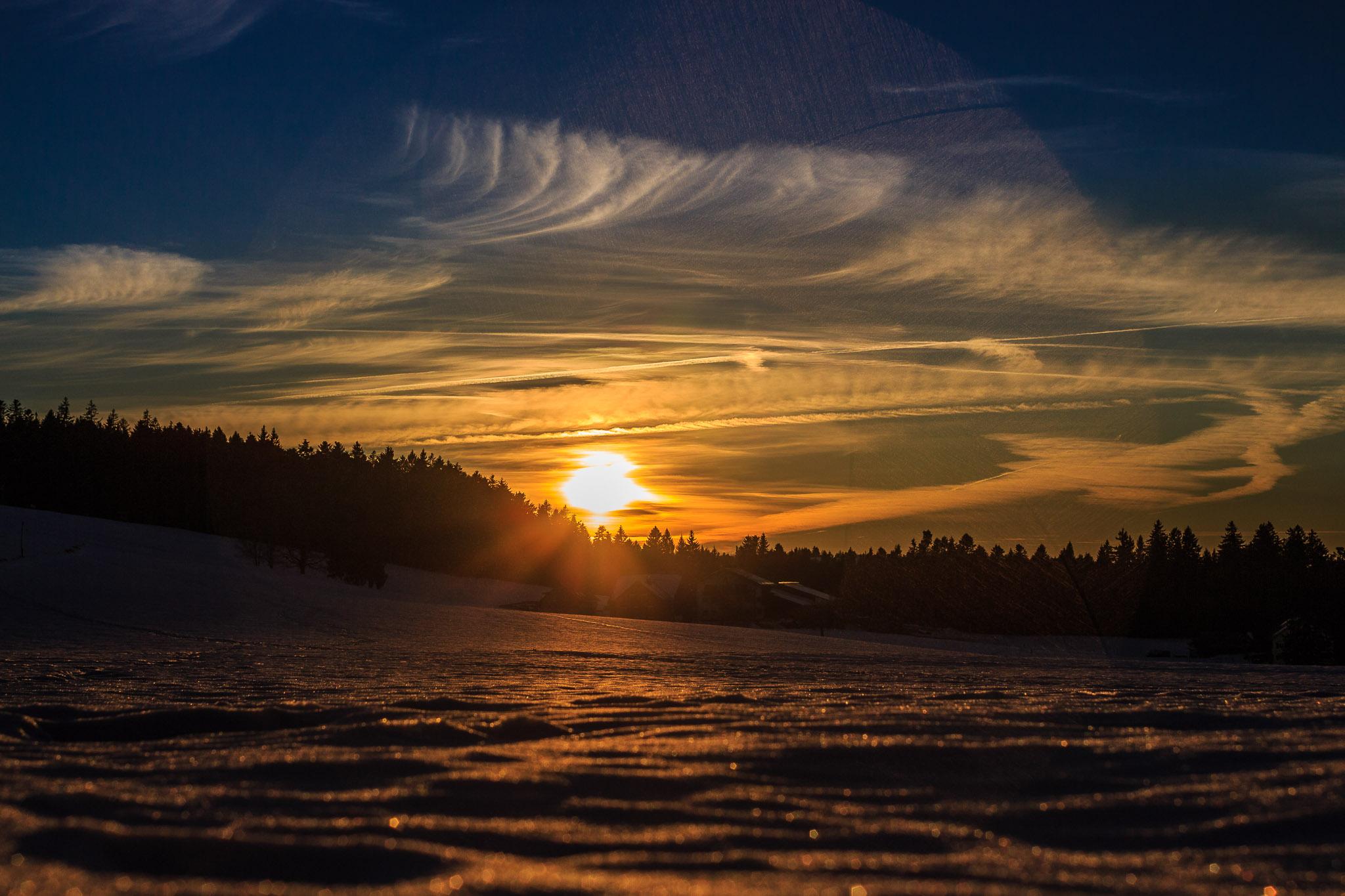 Winterspaziergang Scheidegg