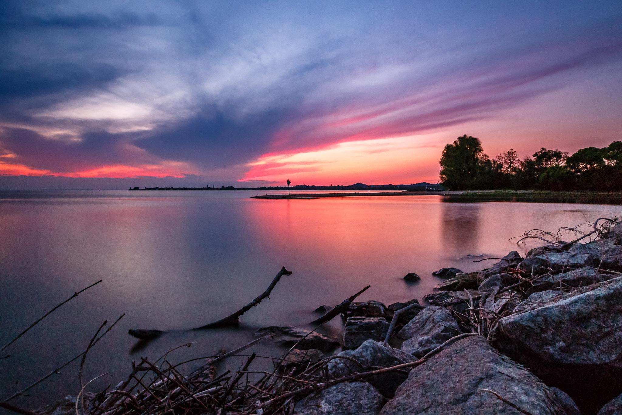 Sonnenuntergang Lindau