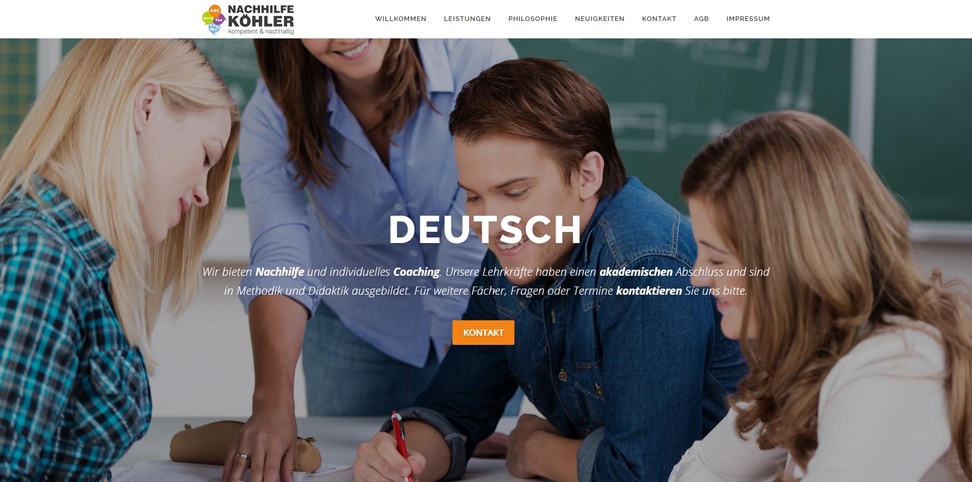 Nachhilfe Köhler Wangen (Relaunch)
