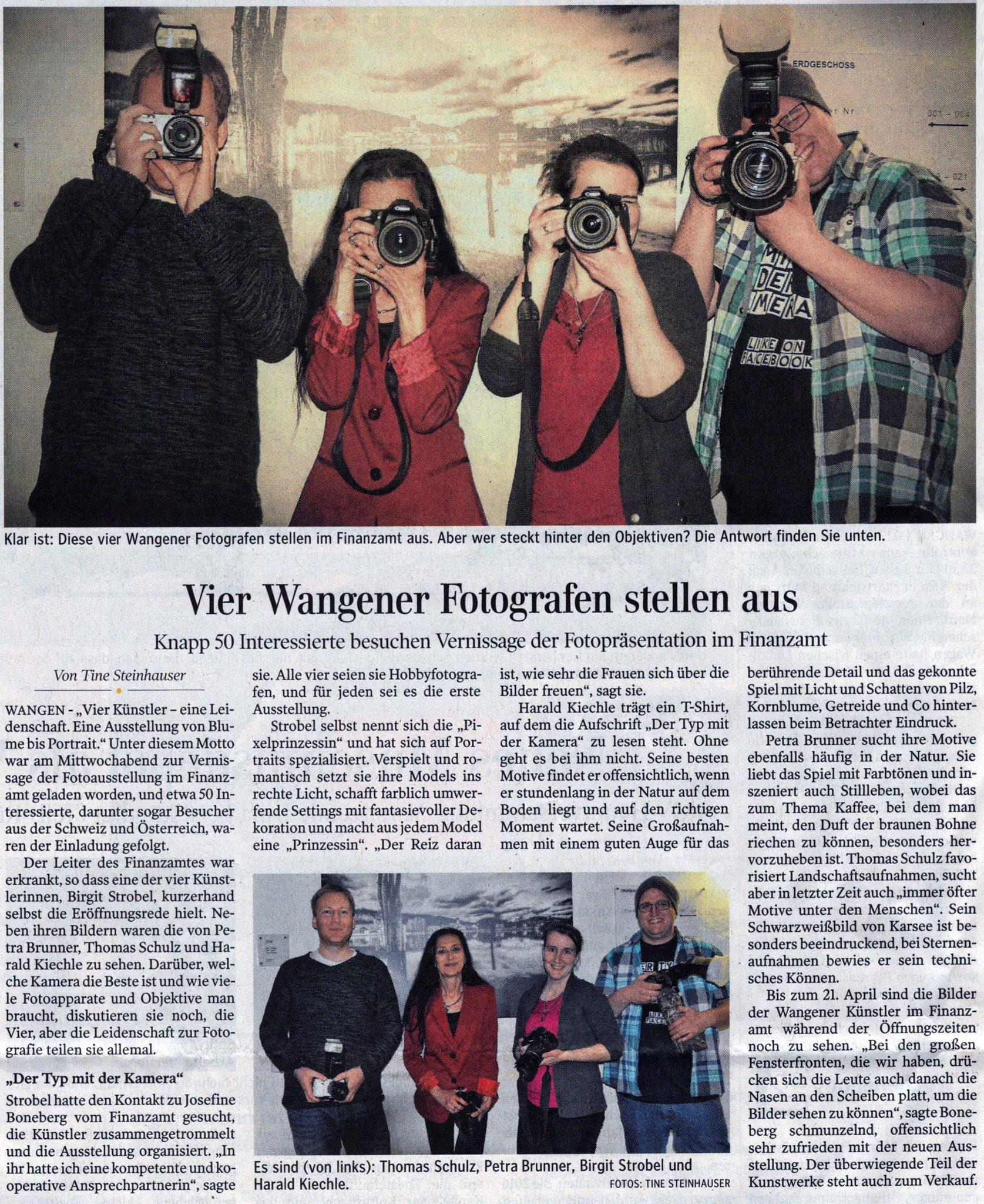 Schwäbische Zeitung – Vernissage