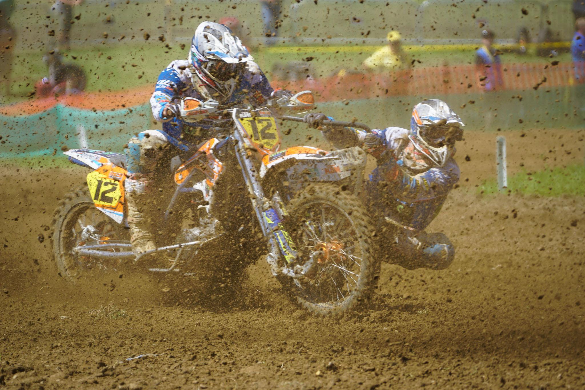 Motocross Seitenwagen WM Möggers