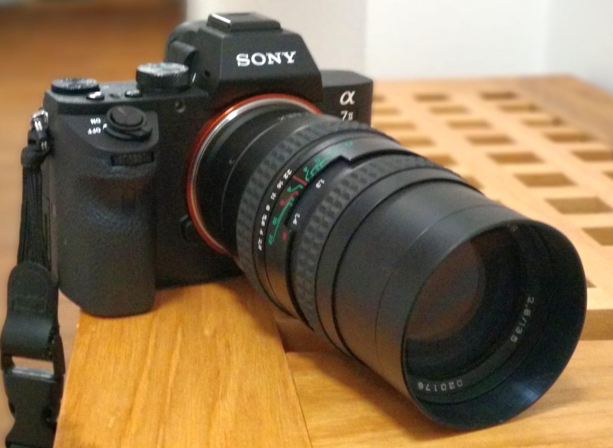 Objektivtest: Zenit MC Telezenitar 135mm 2.8 (M42) an Sony A7II