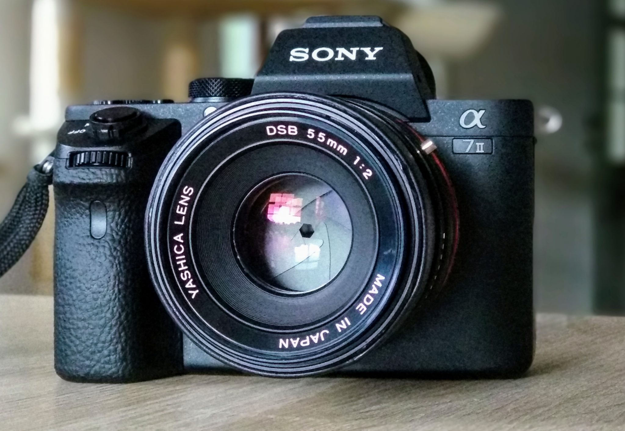 Objektivtest: Yashica DSB 55mm 2.0 (C/Y) an Sony A7II