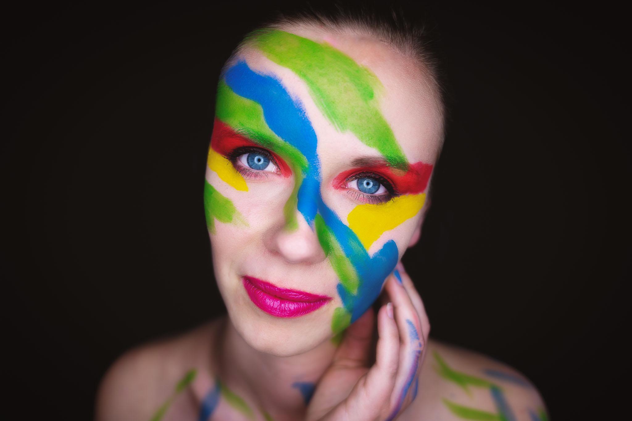 Make-up Wangen